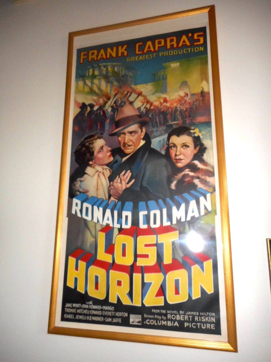 An original #threesheet #movieposter for Lost Horizon, 1937. #StanfordTheatre<br>http://pic.twitter.com/0vfe1PyzXB