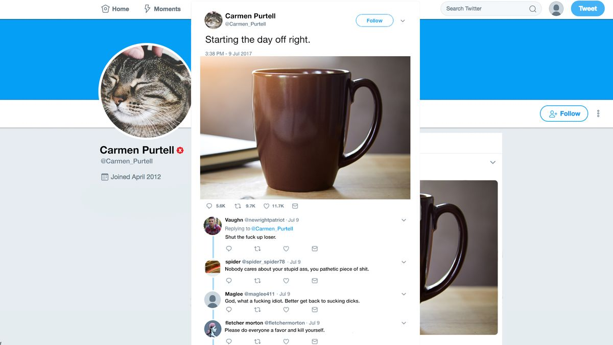 Twitter Introduces Red X Mark To Verify Users It's Okay To Harass https://t.co/ojKmsBOkjc https://t.co/RP1V8LI5yG