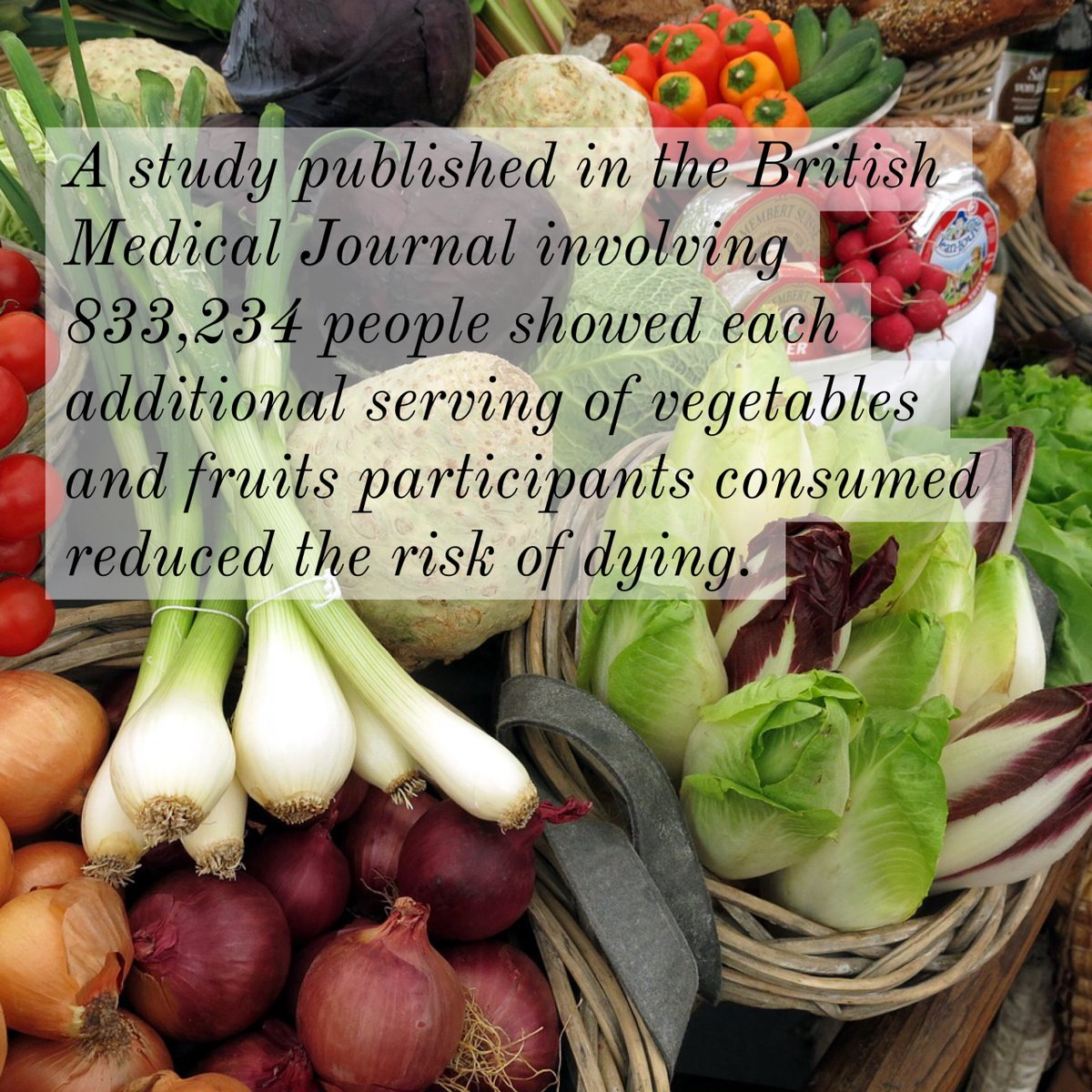 A compelling reason to eat your #vegetables! #healthyeating<br>http://pic.twitter.com/oHELOgg5PT