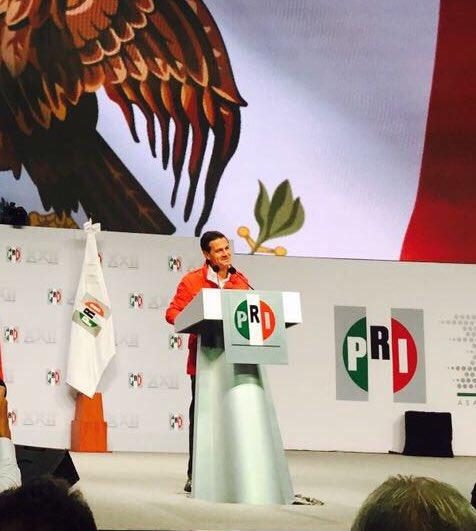 El PRI ha renovado su voluntad de ser protagonista de la transformación de México. @EPN #TuVozPRImero https://t.co/GcqbzIzbFT