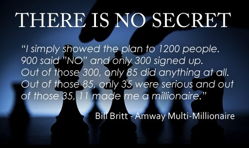 There is no secret... #BuildYourBusiness &gt; #leverage &gt; #success<br>http://pic.twitter.com/er9OMTl5xv