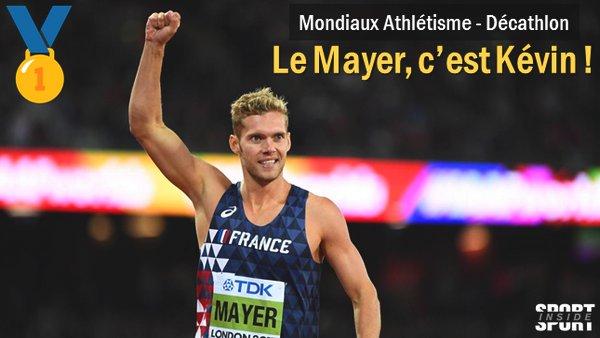 Deuxième titre mondial pour la France avec Kévin #Mayer !  #London2017pic.twitter.com/OAtTVbsweJ