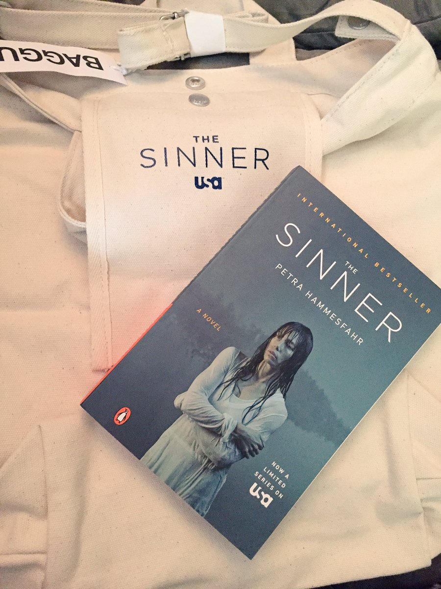 Thanks @TheSinnerUSA ‼️ I'm lovin' the show, now I can't wait to read the book! #TheSinner #LiveTweetParty #USA