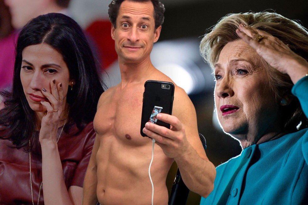 Did Anthony Weiner rat on you &amp; Huma to avoid being killed in prison? #AnthonyWeiner #HumaAbedin #HillaryClinton #Weiner<br>http://pic.twitter.com/PLRdTgcJpi