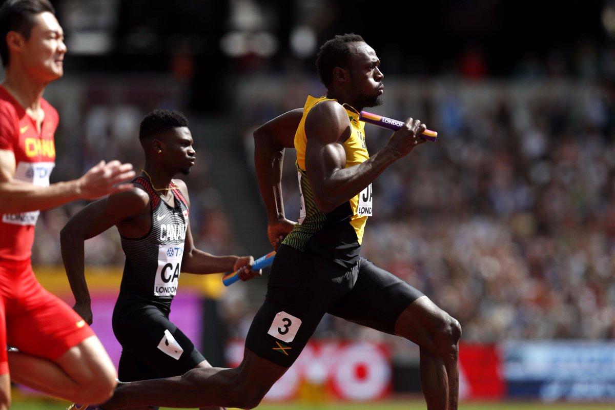 【#TBS #世界陸上 ロンドン🇬🇧9日目】 ◆男子4×100m決勝 人類史上最速のスプリンター、ウ…