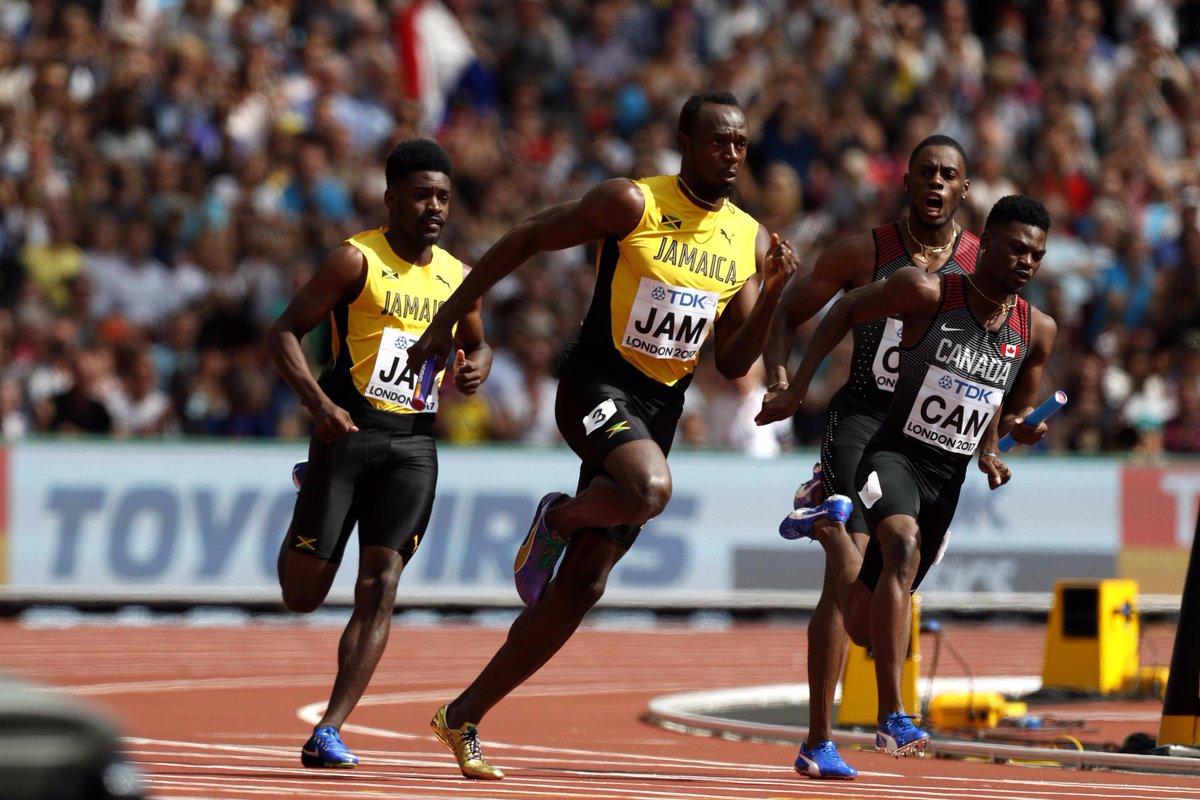 【#TBS #世界陸上 ロンドン🇬🇧9日目】 ◆男子4×100m決勝 ジャマイカはブレイクが3走、ボ…