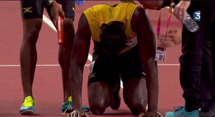 Deux légendes, deux fins de carrières cruelles ! 😢 #Bolt