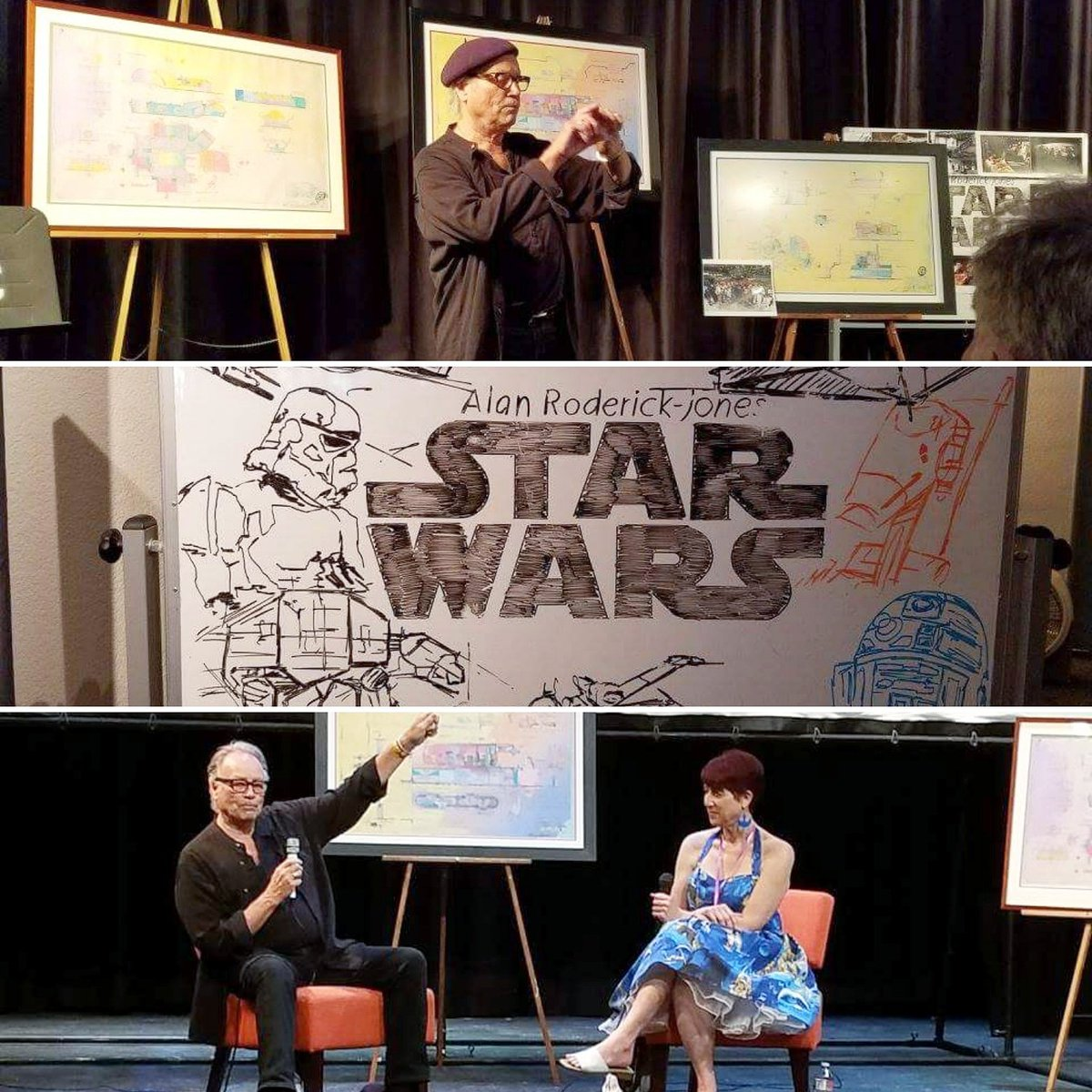 Today&#39;s Event. #StarWars #SetDesigner Workshop @OsideFilm with #AlanRoderickJones  (#OceansideFilmFestival)<br>http://pic.twitter.com/ViEYPXgEmC