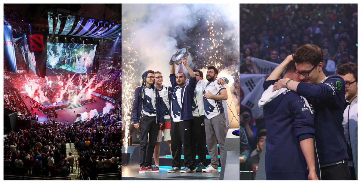 World Champions. #TI7