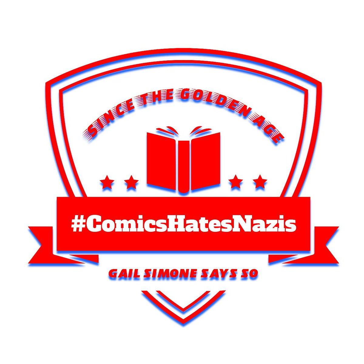 BOOM! @GailSimone #ComicsHatesNazis  #artwork #comicbooks #design #fonts #logo #text #words<br>http://pic.twitter.com/jp1jX6x8B0