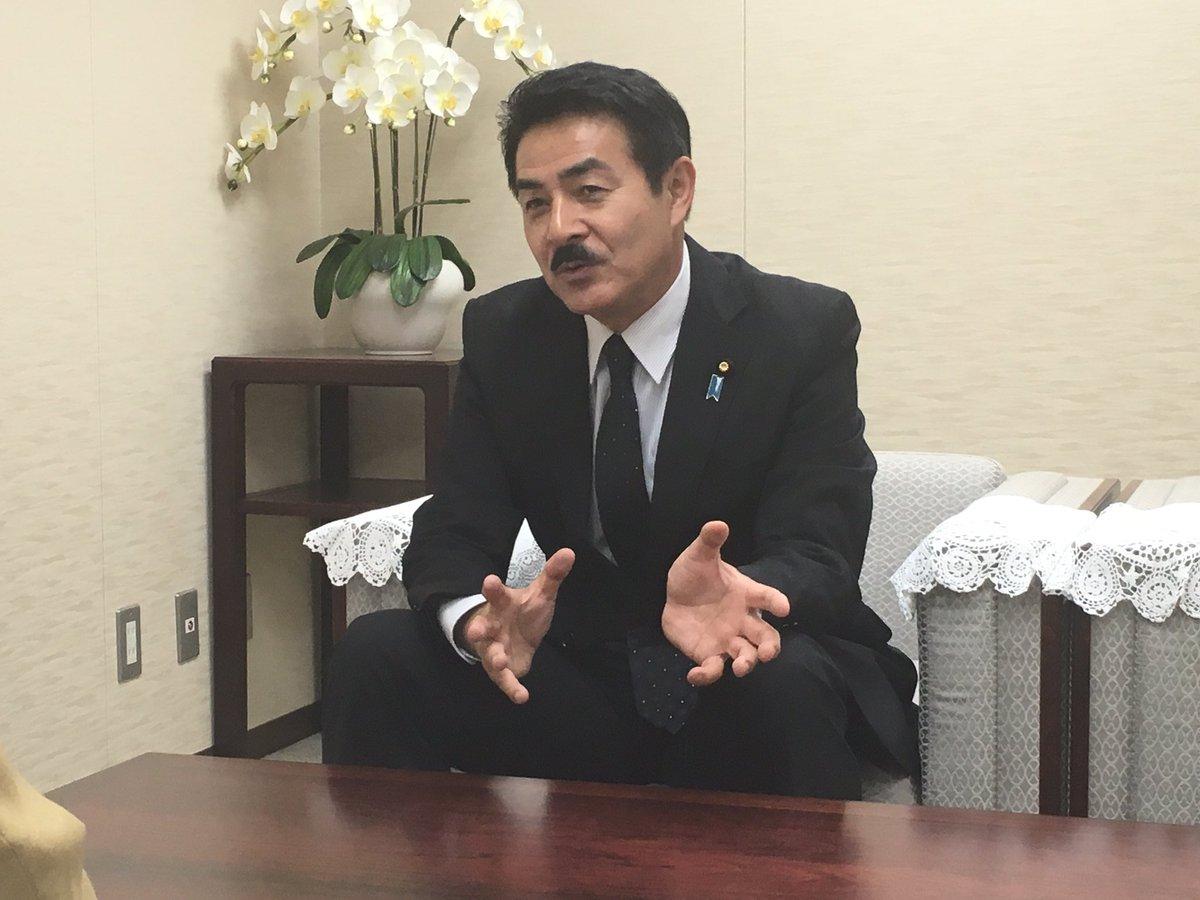 【福島民報新聞社、福島民友新聞社を訪問、外務副大臣としての抱負等を述べました】 話題の関心はやはり北…