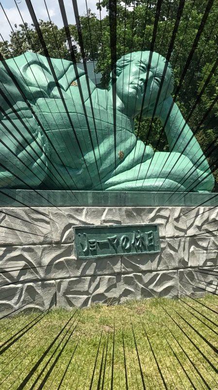 リョーマの休日・・・。一発ギャグの為に銅像にさせられる坂本龍馬www