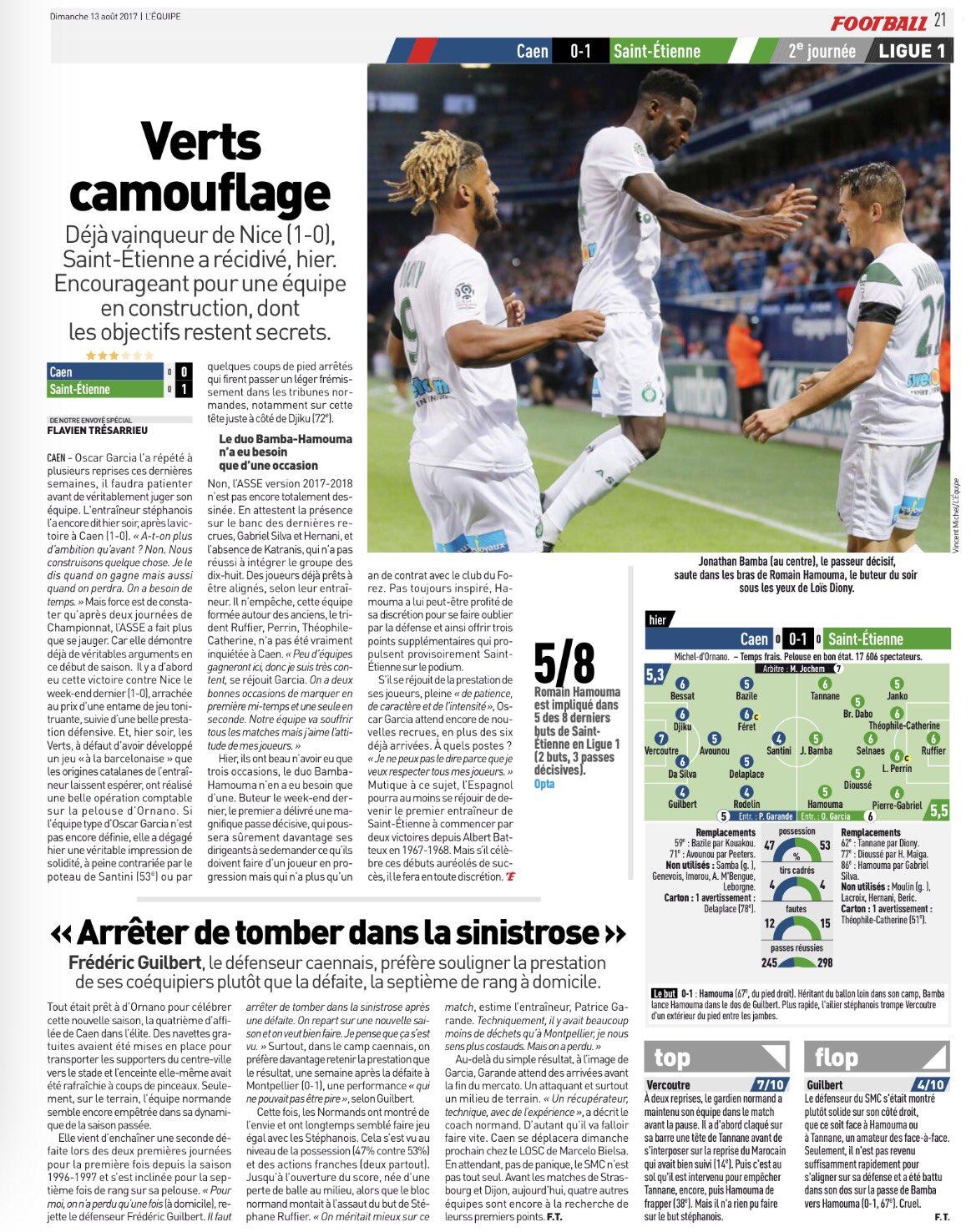 [2e journée de L1] SM Caen 0-1 AS Saint Etienne - Page 2 DHEEGJxXsAESqxy