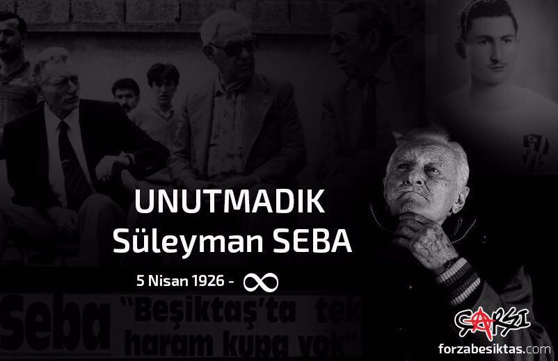 UNUTMADIK #SüleymanSeba #Beşiktaş https://t.co/Y669D509E3