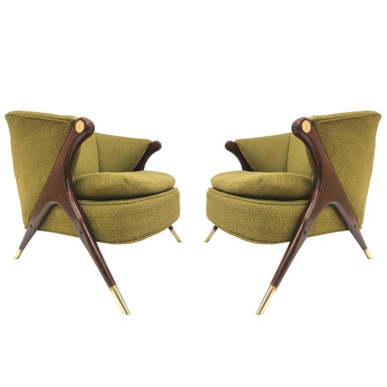 Chairs Https Www 1stdibs Furniture Seating Lounge Karpen California Mid Century Modern Pair Id F 8112243 Pdpbenefits False