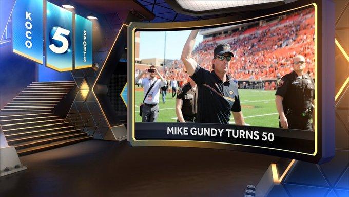 Happy 50th birthday, coach Mike Gundy!