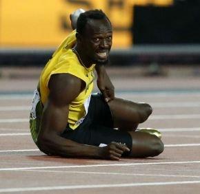 Si los Británicos en la posta 4x100 hubieran corrido ayudar a Usain Bo...
