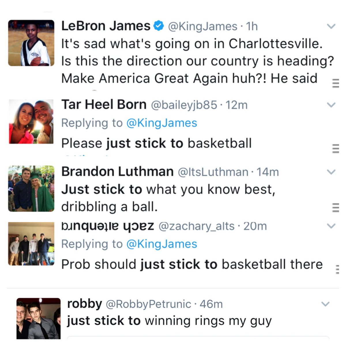 'Stay In Yo Place Boy' Twitter in full effect. How does making $$$$ disqualify your opinion about the country in which you live? And...