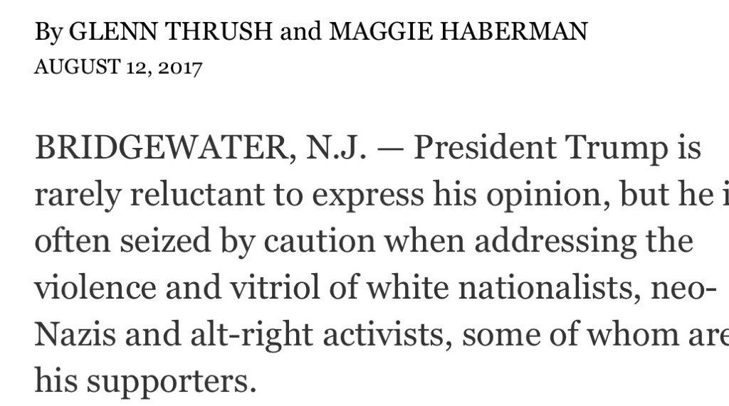 In a single sentence, @GlennThrush and @maggieNYT nail it. https://t.co/htxsTpiaZp https://t.co/4ttgeaSCr6