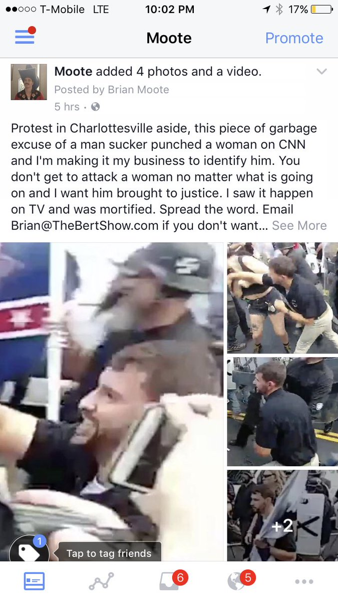 This A-Hole... protest, riot or war... you did not get to sucker punch a woman. Never. Please RT https://t.co/oGXsx1ZlAx
