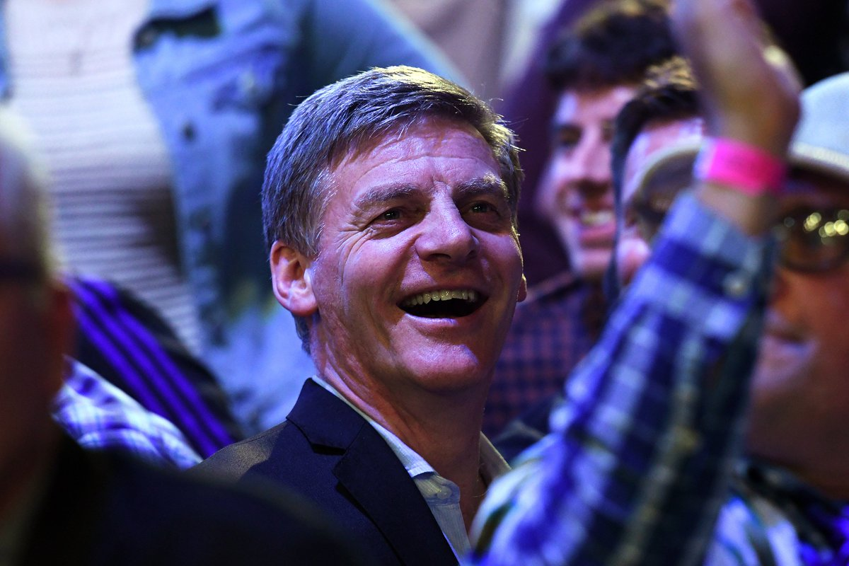 Honoured to have Bill English, the Prime Minister of New Zealand with us this evening!