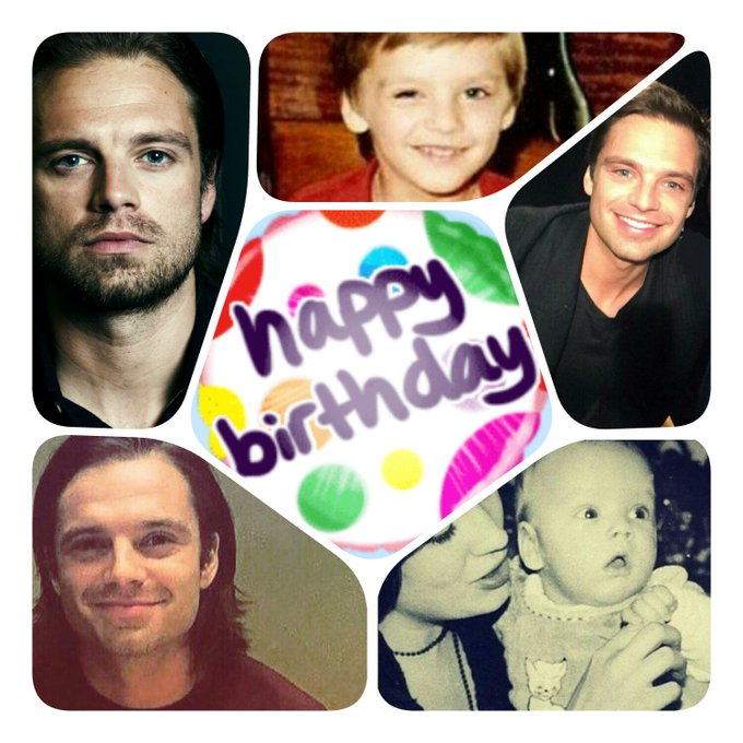 Happy birthday to Sebastian Stan. I wish him an amazing day with his family and friends  .