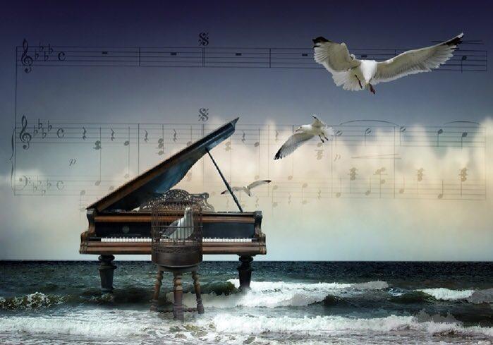 Музыкальная открытка все о лететь