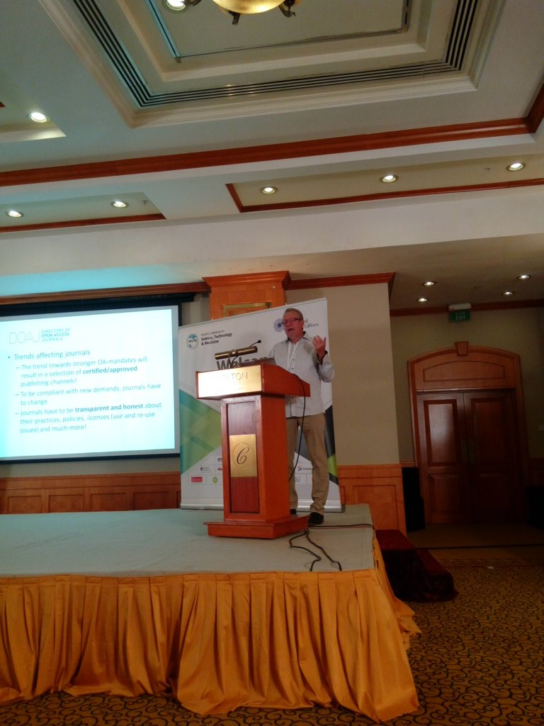 How to enlist your journal in @DOAJplus by @elbjoern0603 #ACSE2017 <br>http://pic.twitter.com/0gsXJuvKtV