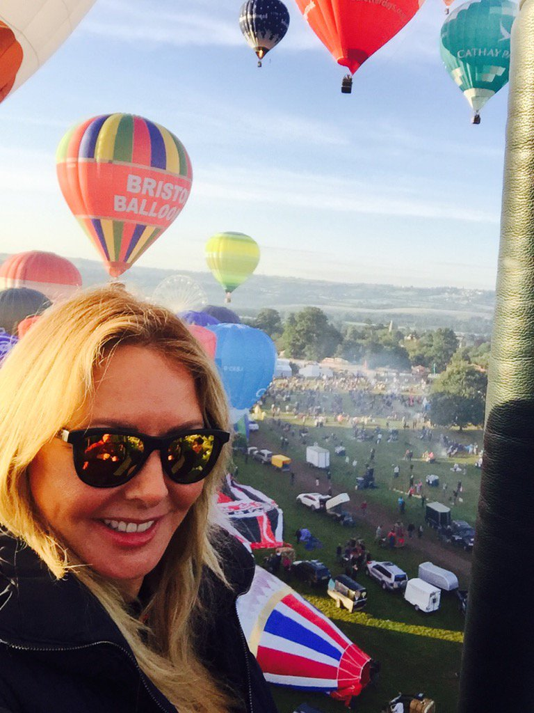 It's stunning up at 100 feet....hooray @flyingenterp xx https://t.co/Z2pAczUVIf
