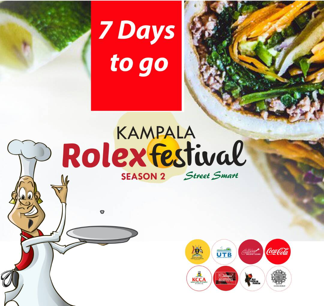 Mark your calendars guys! 7 days to #KampalaRolexFestival @UgandaMuseum 20th Aug Time to #tastethefeeling of #cocacola &amp;sample #UgandanRolex<br>http://pic.twitter.com/z9Li7Te3sh