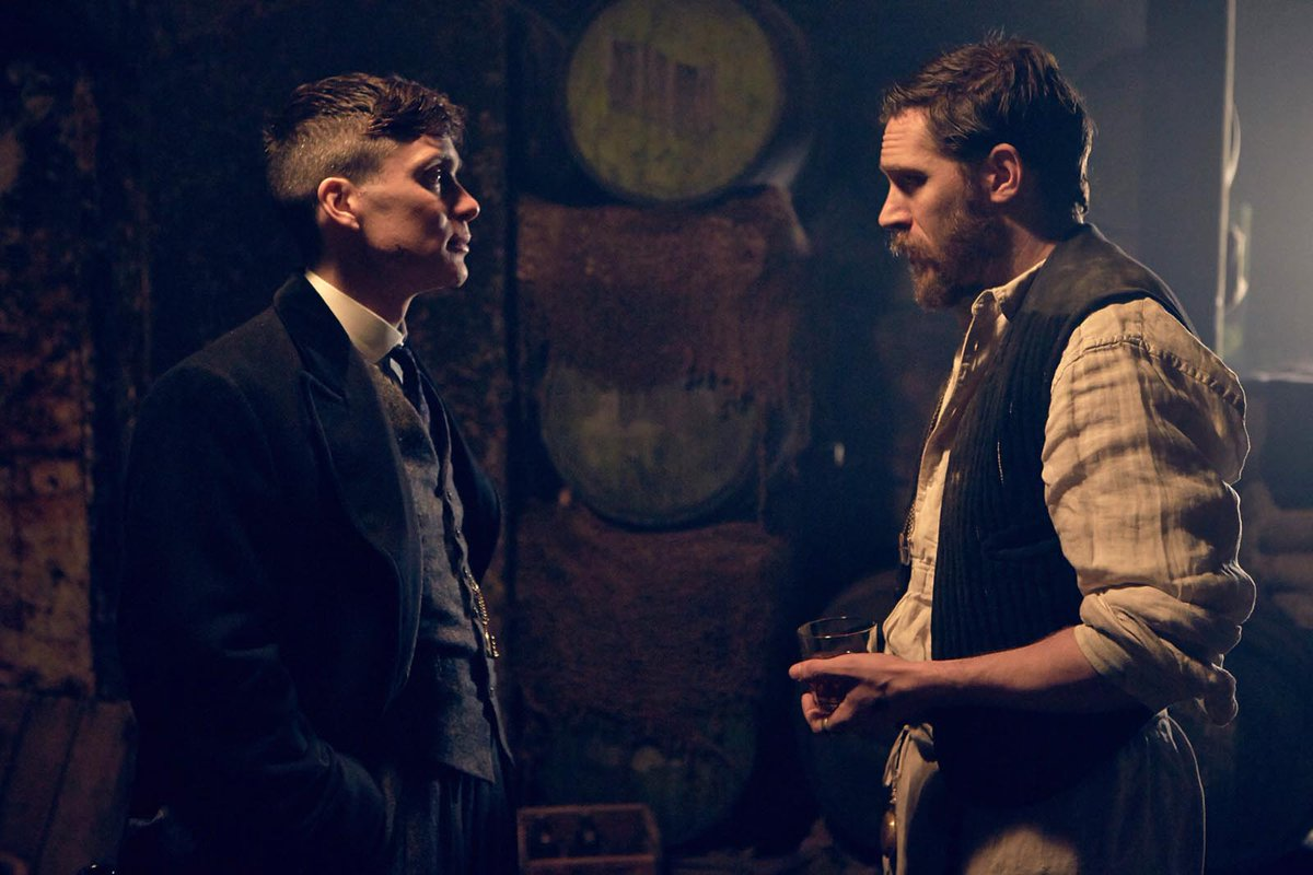 This Scene where Tommy meets Alfie Solomons for the First time is an Absolute Masterpiece! #TomHardy #CillianMurphy #PeakyBlinders<br>http://pic.twitter.com/qS8M97Opeh
