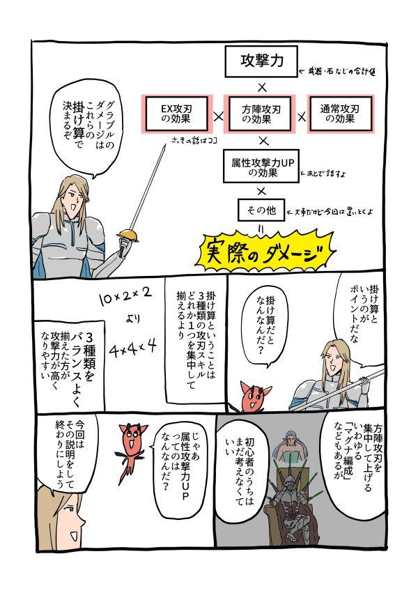 【グラブル】攻撃力を上げるための編成の基本(初心者向け) zenkoba.com/entry/hen…