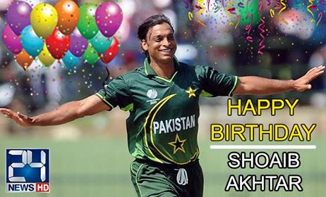 Happy Birthday to the Shoaib Akhtar