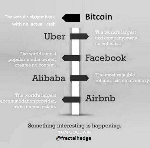 #digitaleconomy #bitcoin the new world of paradoxes! #sharingeconomy #blockchain #disruption #crypto DNA https://t.co/Wndim7YJ6v