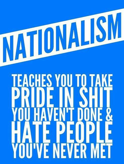 Just a reminder that nationalism is a special kind of stupid. #charlot...