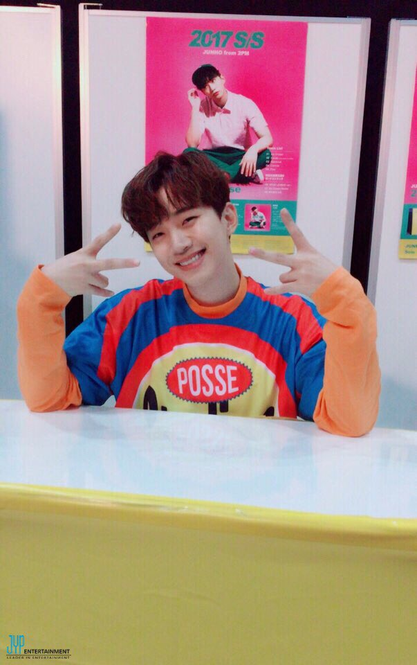JUNHO (From 2PM) 5th Mini Album「2017 S/S」リリース記念イベン…