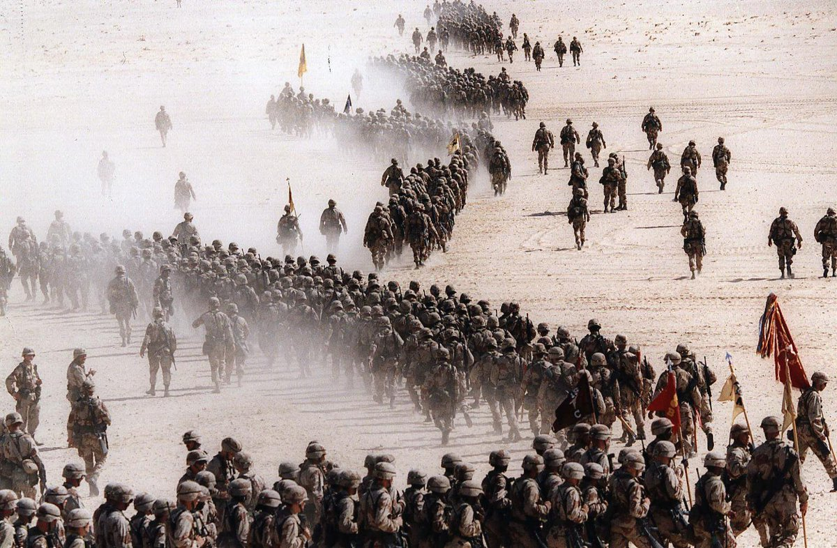 a history of the operation desert storm The shape and patterns of world history,  operation desert storm had a crucial impact on the kinds of questions i seek to answer and why i think they.
