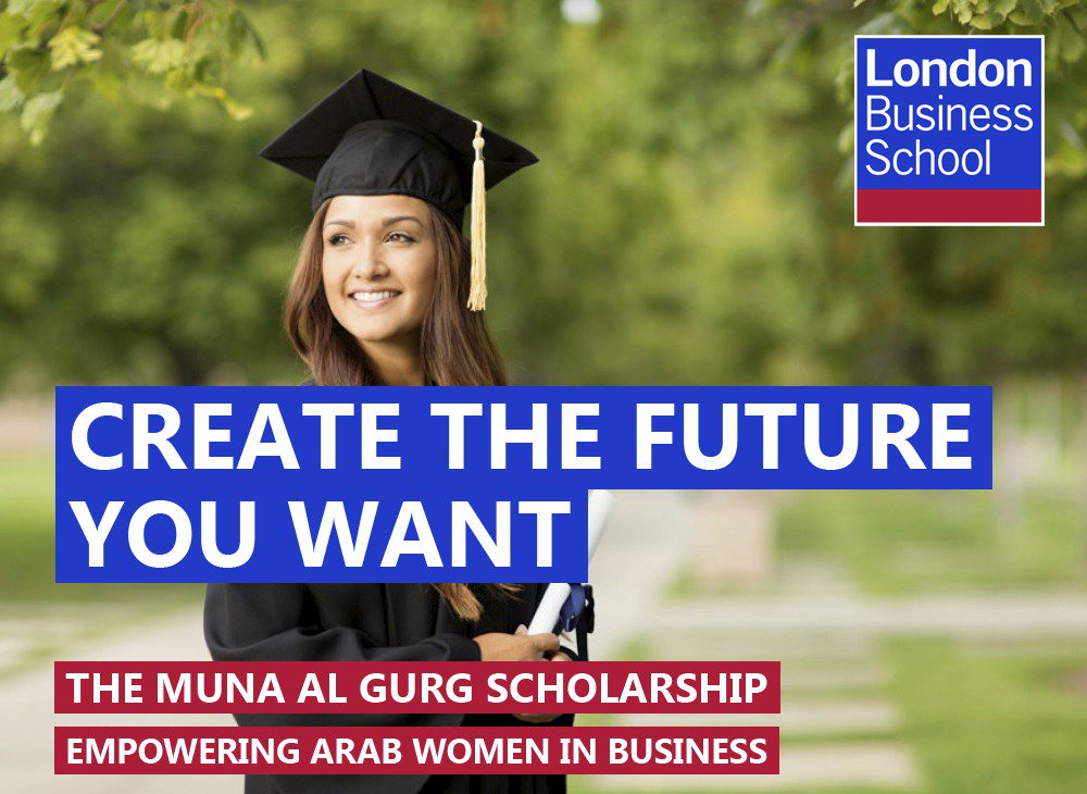 Nine years ago I graduated from @LBS. Today I&#39;m offering my #scholarship to #Arab women, apply here:  https://www. london.edu/programmes/mas ters-courses/executive-mba/fees-and-scholarships#.WZAm0DfTXqD &nbsp; …  #MBA<br>http://pic.twitter.com/lesoYoc0SF