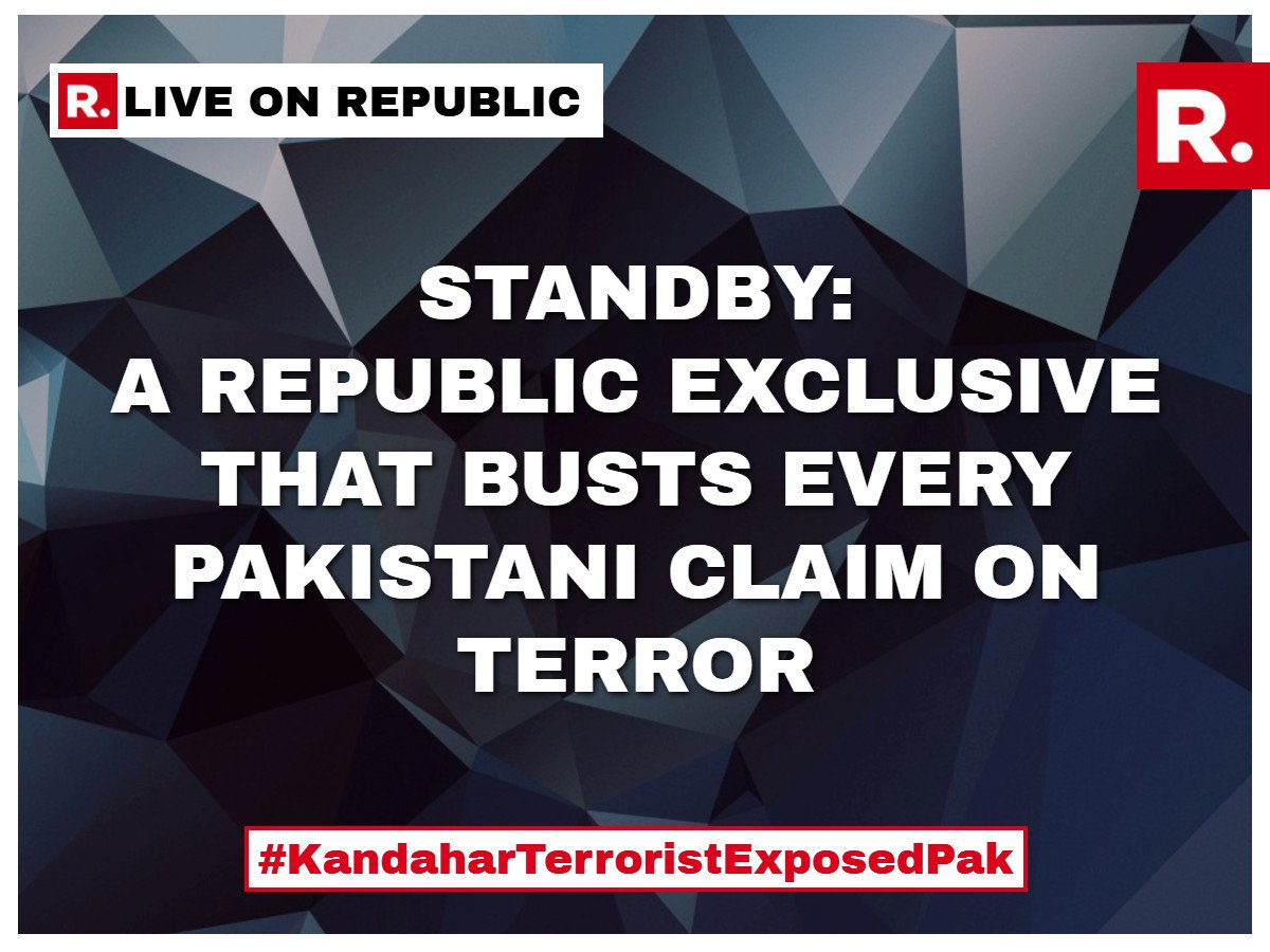 Standby: Republic TV brings you the clincher #KandaharTerroristExposesPak   Watch -  http://www. republicworld.com/livetv  &nbsp;  <br>http://pic.twitter.com/KtellK2xDb