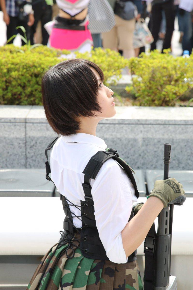 夏コミ(C92)2日目 かざりさん @kazariri  撮影ありがとうございました。 #C92 #C92コスプレ