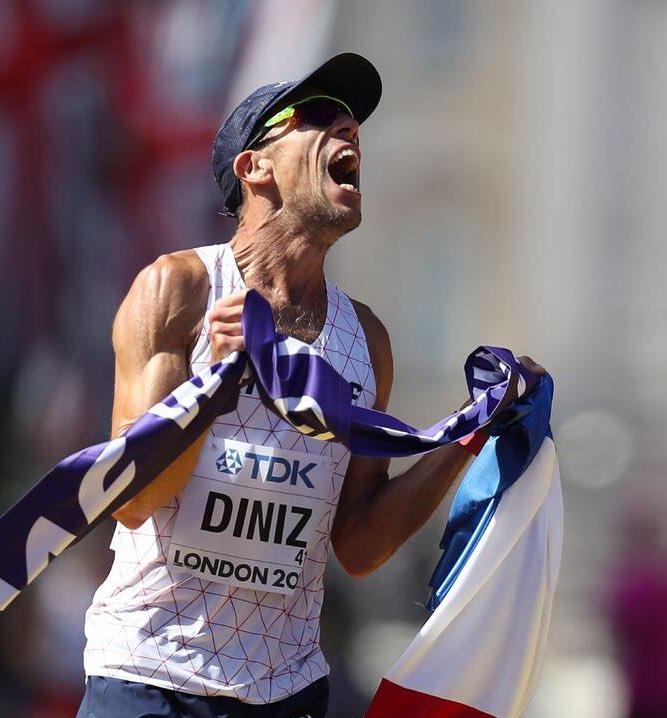 #Bosse #Mayer #Diniz  Félicitations à nos 3 mousquetaires de l'athlétisme, champions du monde à quelques heures d'intervalle pic.twitter.com/5cKGjFqzyF