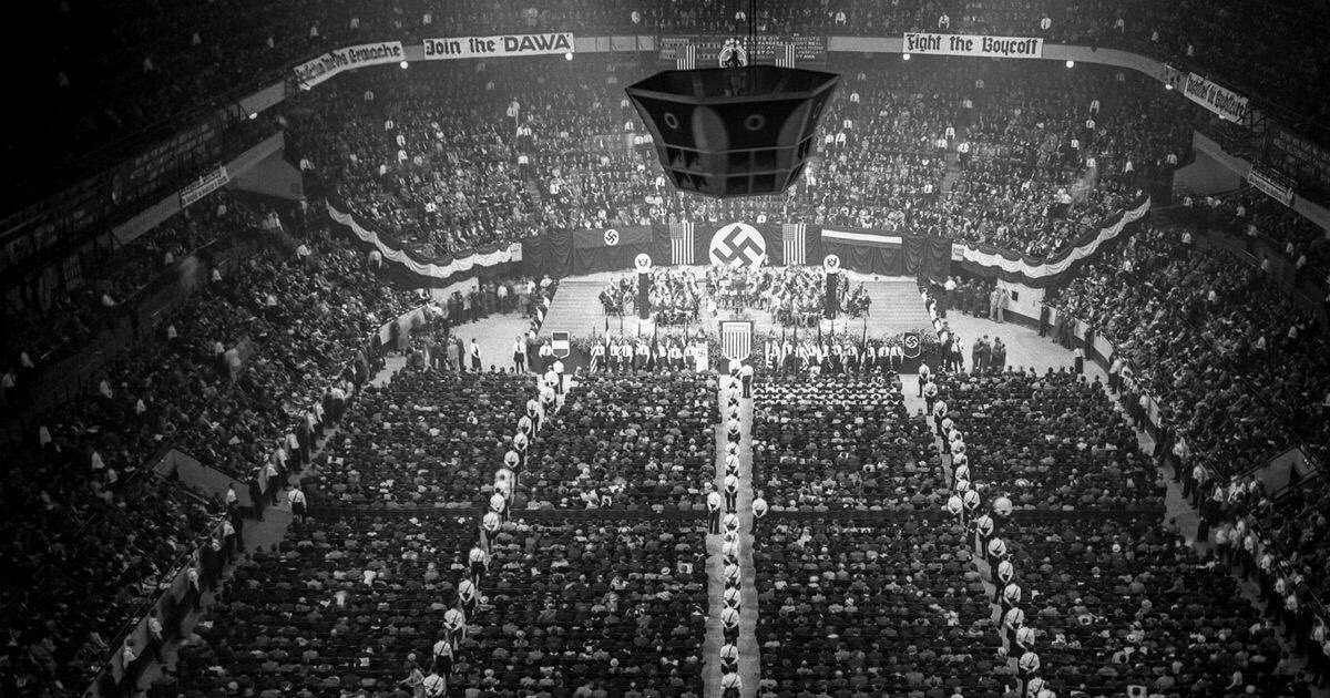 Ian Bremmer On Twitter Madison Square Garden 1939 Worth Remembering