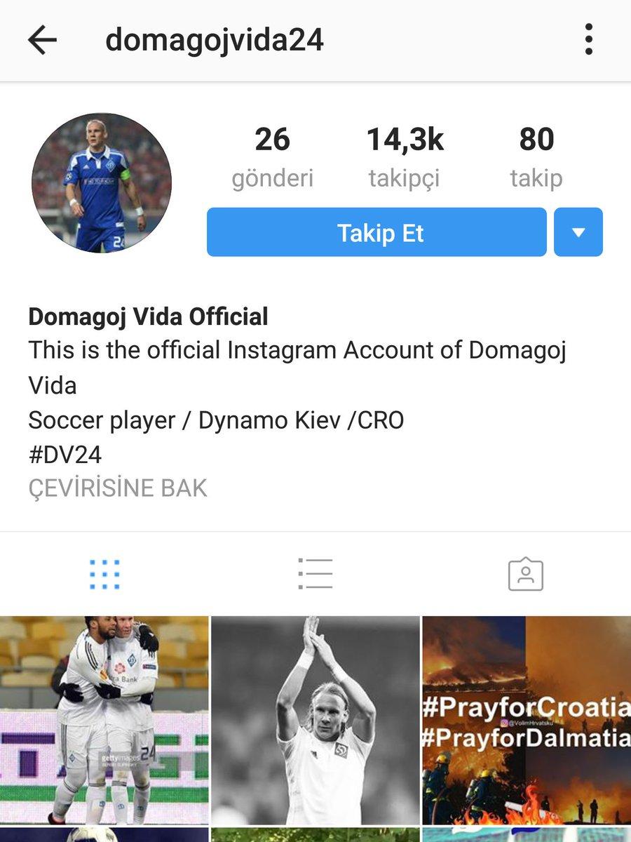 Domagoj Vida Fan At Domagojvidafan Twitter Profile And
