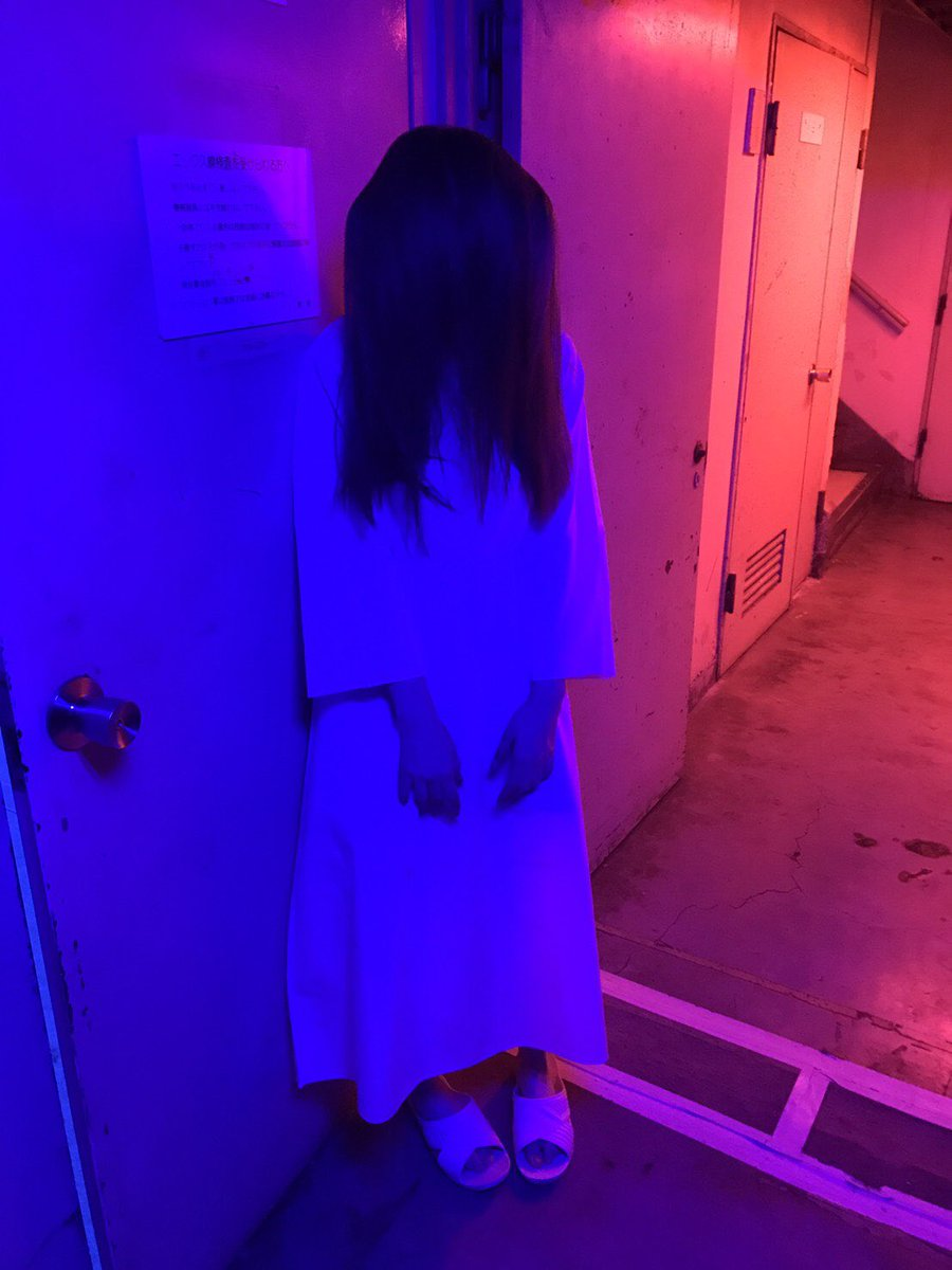 ちょーーー本気の貞子ですよ。 私、佐武宇綺は。  #ベビ9