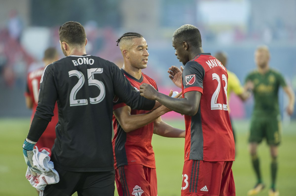 """""""It's a testament to how well we've played.""""  @Alex25Bono on his record 12th win MLS win  :  http:// bit.ly/2wGhMxM  &nbsp;    #TFCLive 