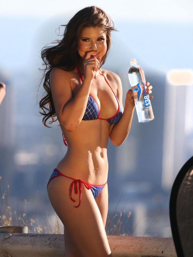 Hot girl in bikini