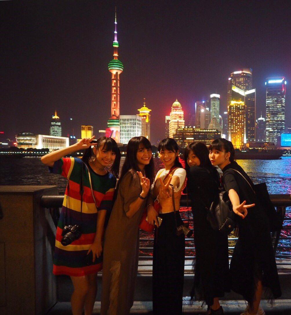 上海〜〜〜 最高だったぁ。 #ベビ9  #9nine #ベイビーレイズJAPAN