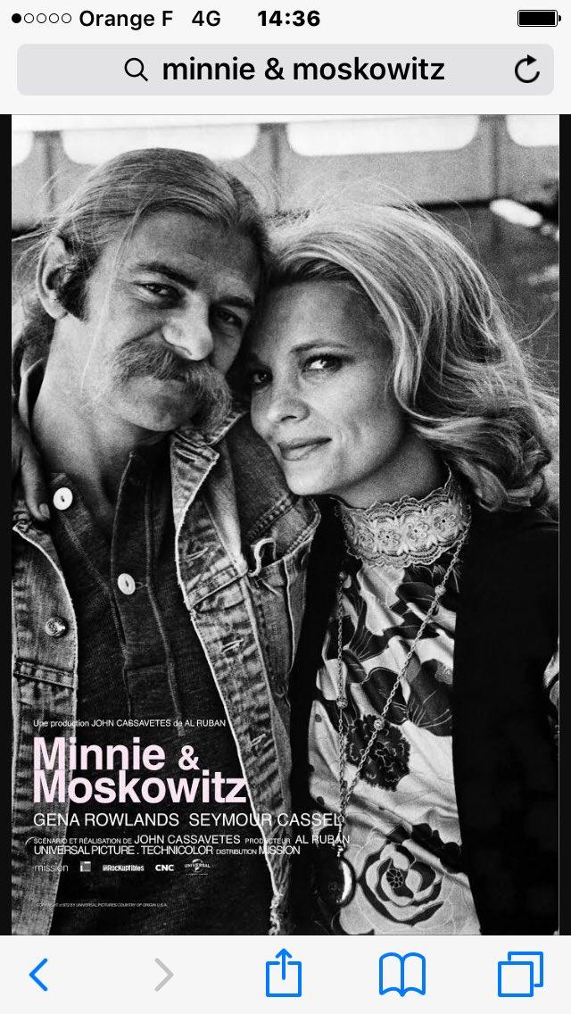Minnie & Moskowitz - Erin Brockovich - Frankenstein junior - Ne nous fâchons pas #4FilmsQuiFontDuBien pic.twitter.com/jGtQGmmmkD