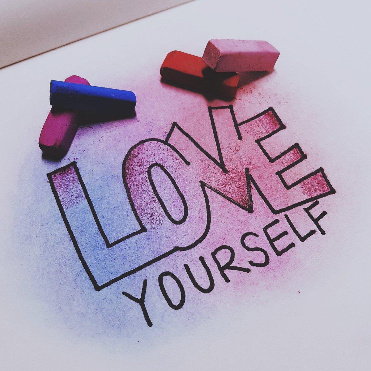 LOVE YOURSELF @BTS_twt   #13분캘리 #LOVE_YO...