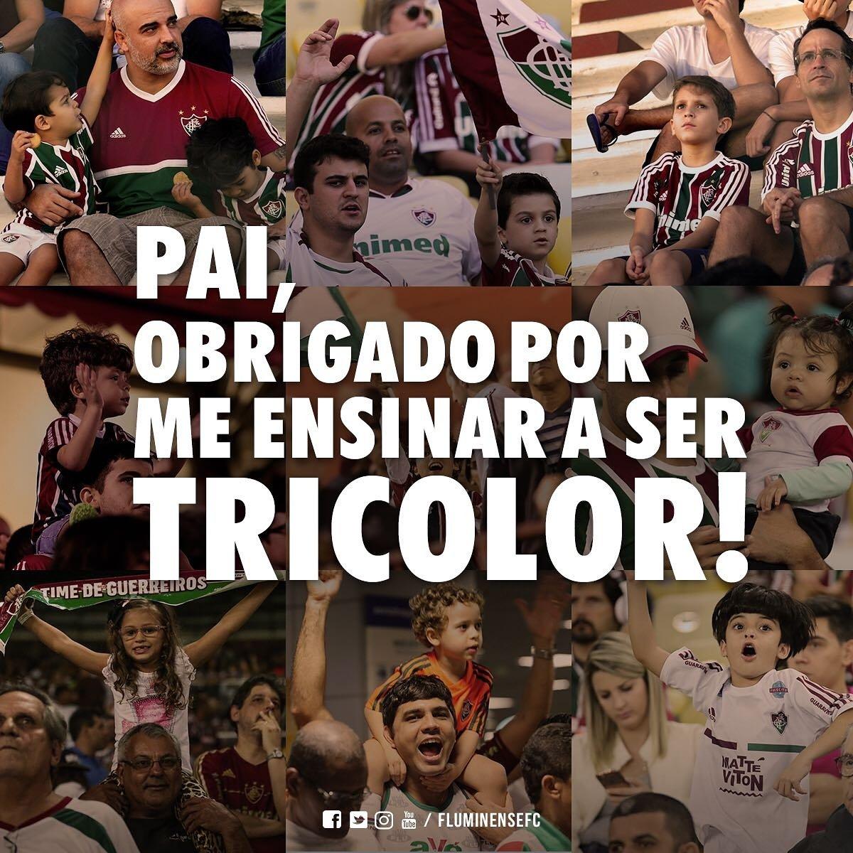 Graças a Deus sou Tricolor! E ao meu pai também. 🙏🏽